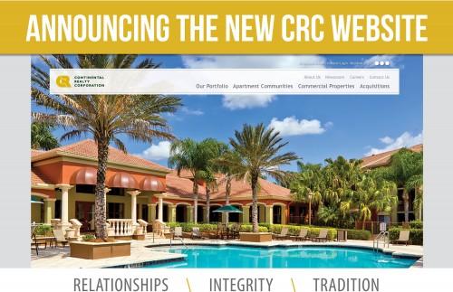 CRC New Website Flyer - Website