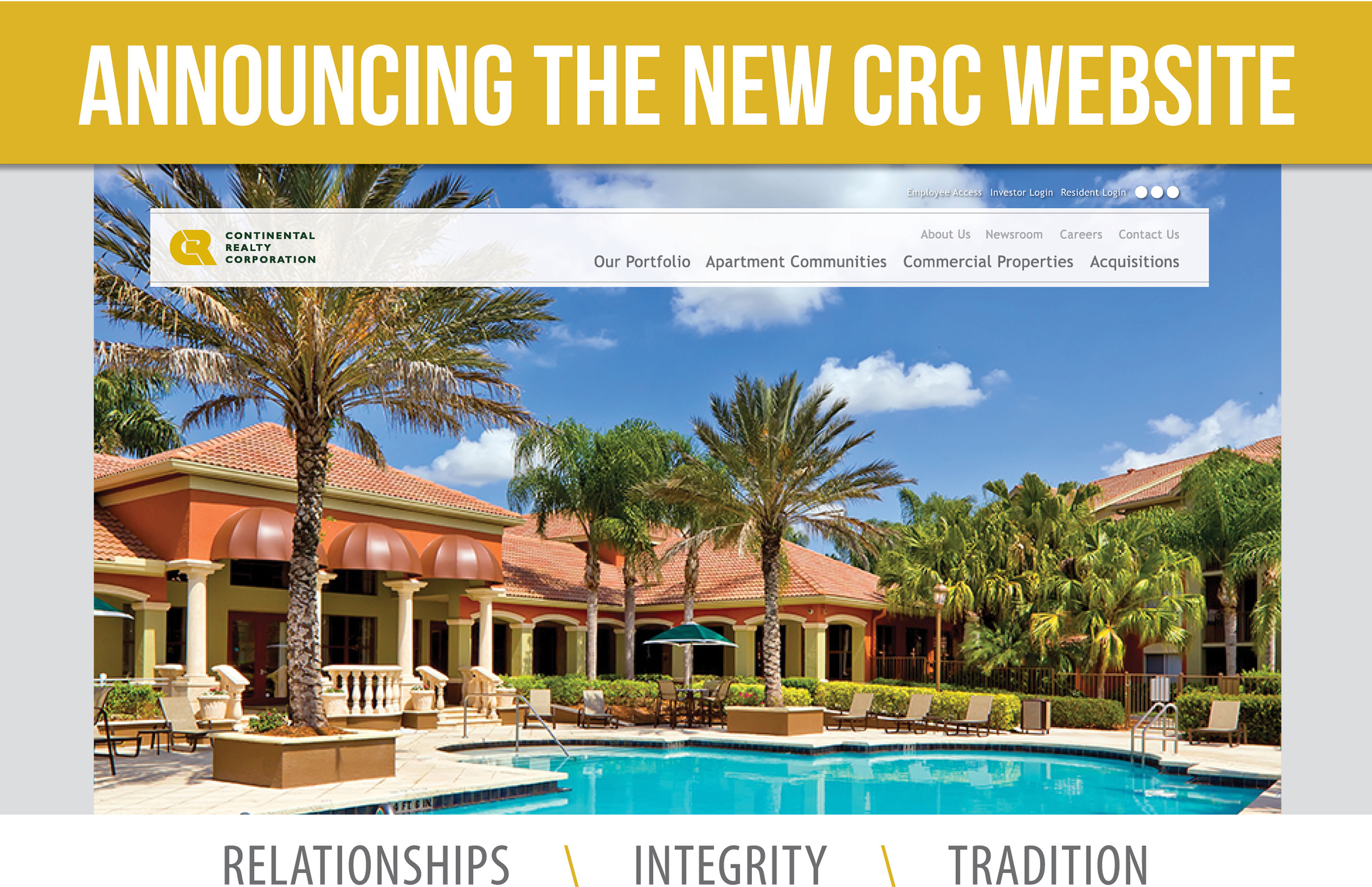 CRC New Website Flyer - Website