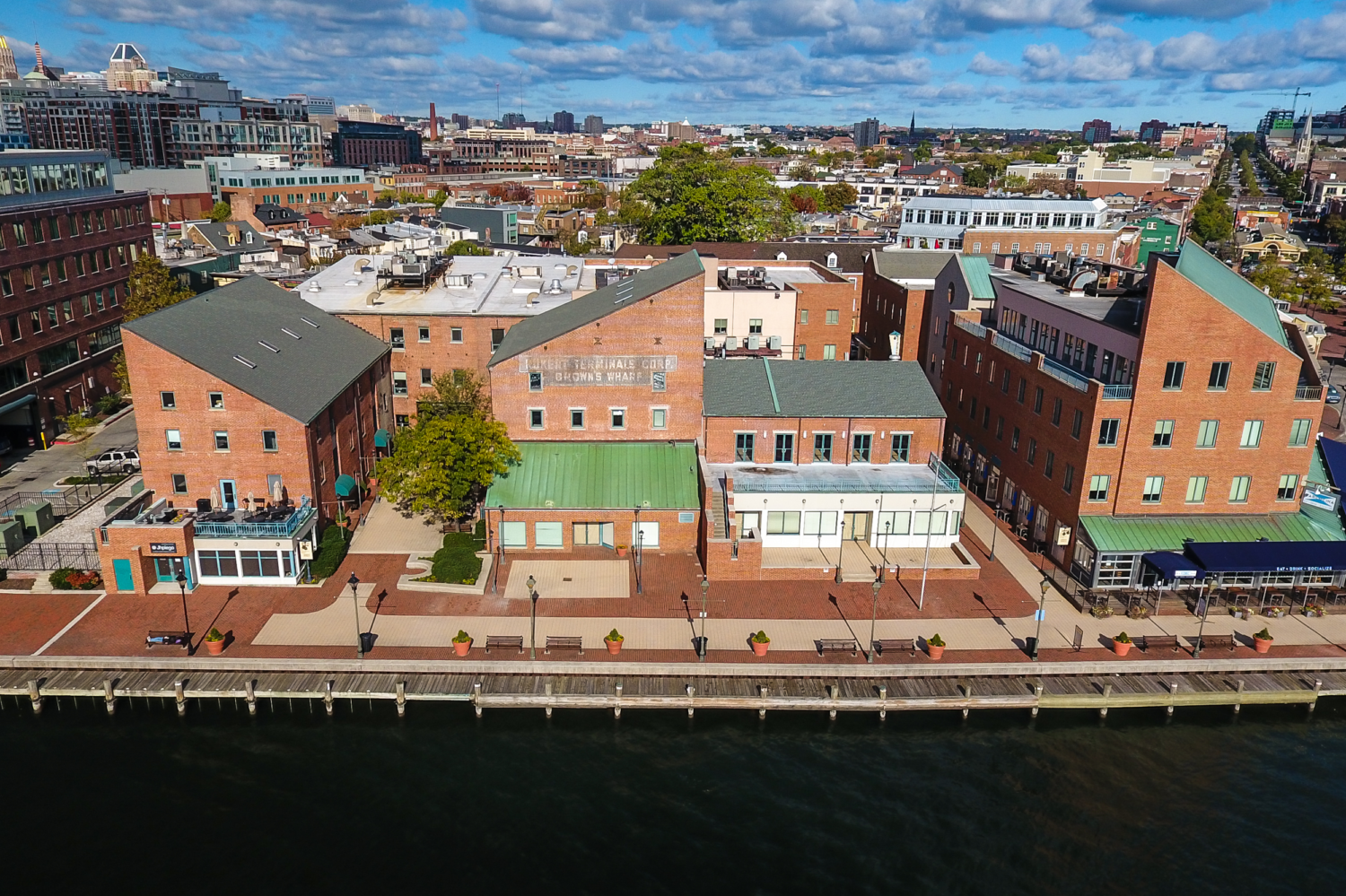 CRC Acquires Baltimore City Waterfront Property Brown's Wharf for $21M -