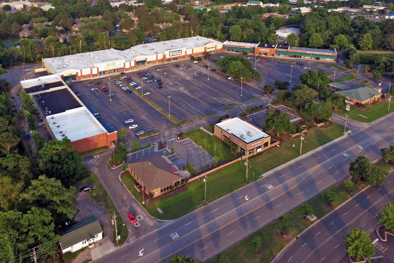 West Ashley Shoppes Aerial