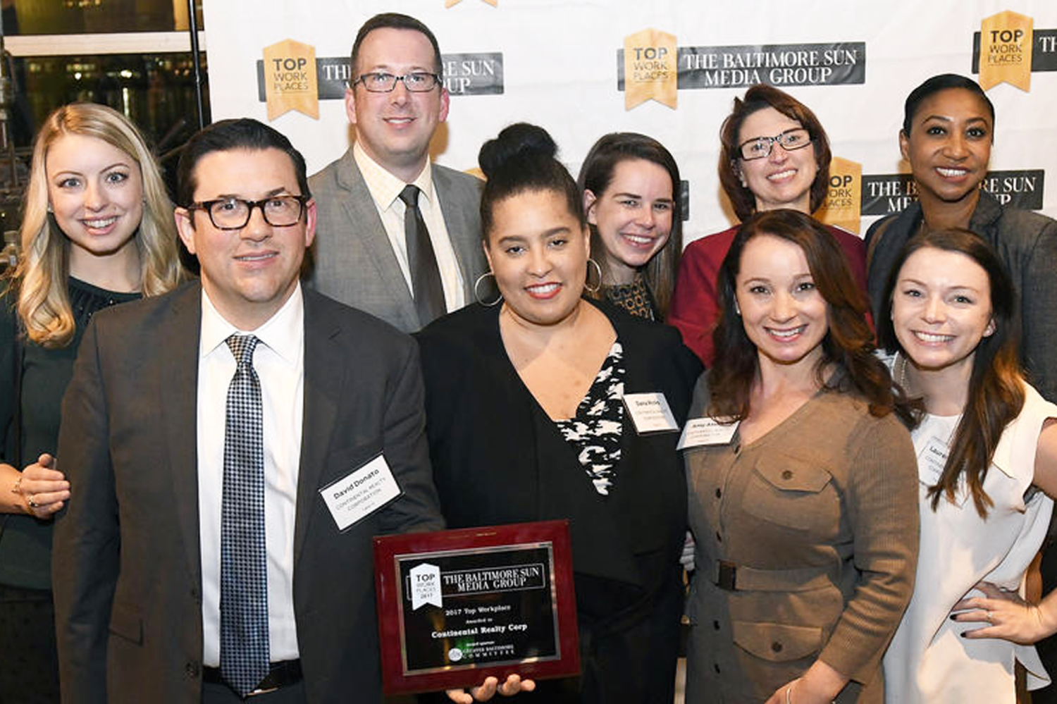 Baltimore Sun Top Workplaces Awards