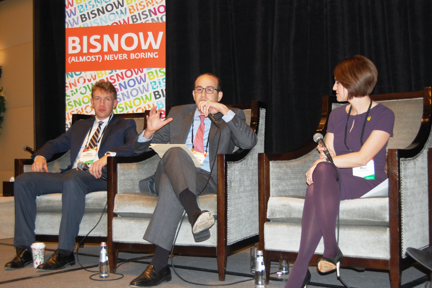 Ari Abramson VP Multifamily Acquisitions Speaks Bisnow Event